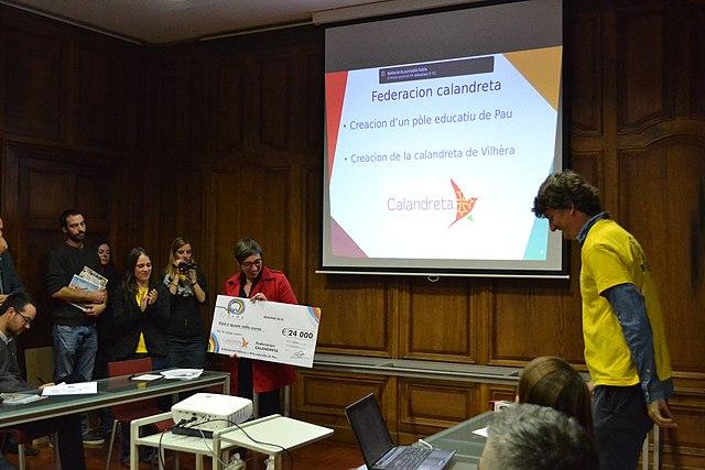 Calandreta - Conférence de presse projets La Passem 2018